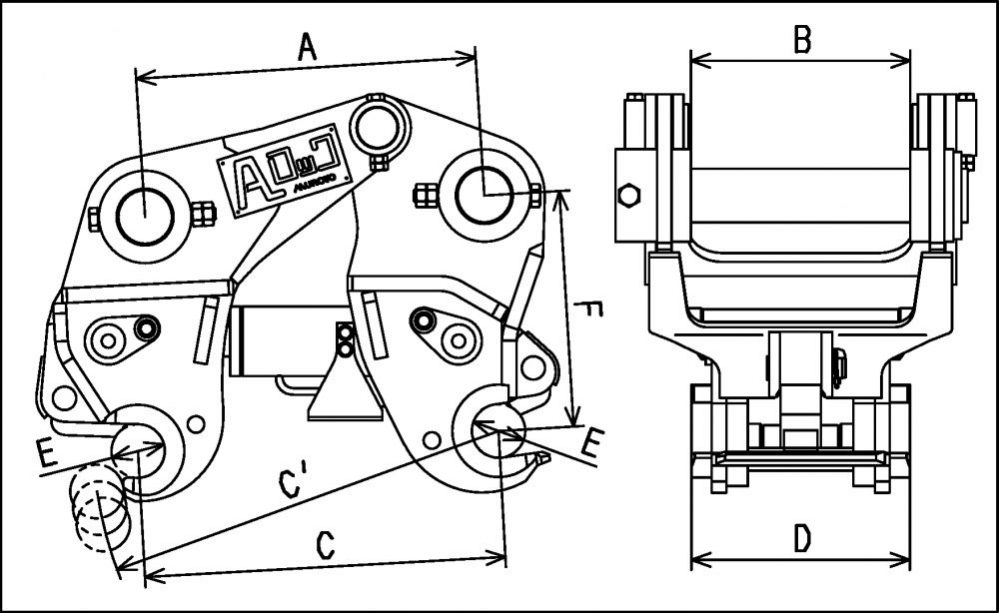 油圧式Aロック
